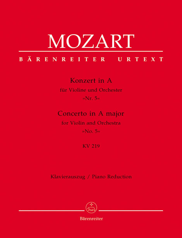 Violin Concerto No. 5 in A major,