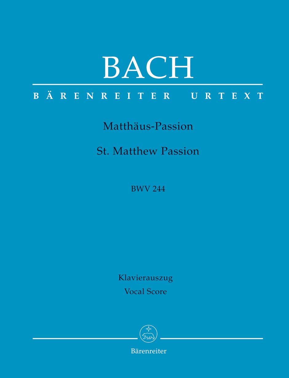 St Matthew Passion BWV 244 image