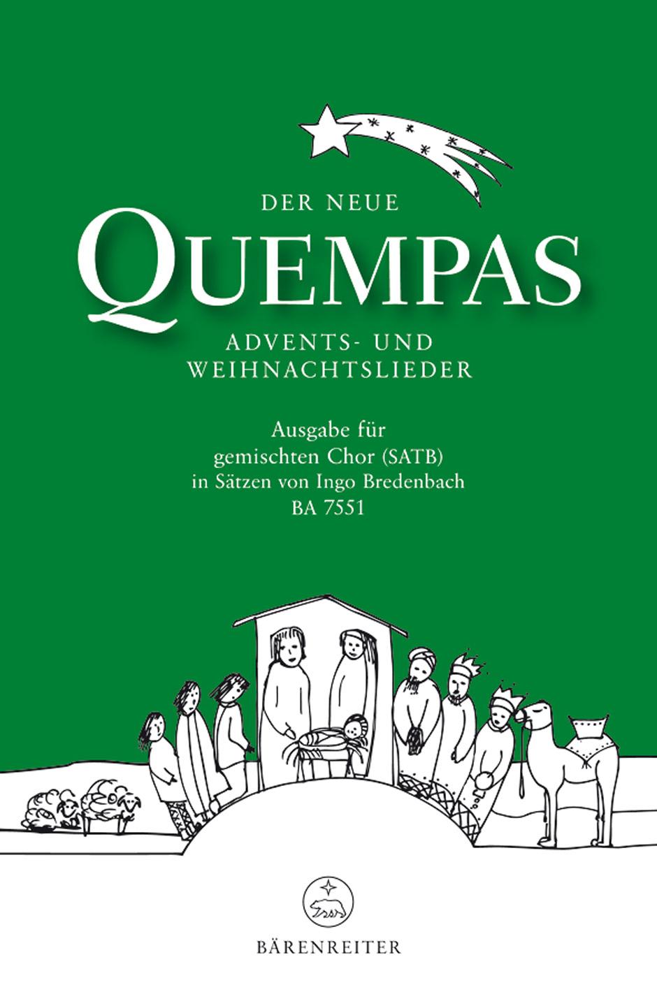 Der neue Quempas. Advents- und Weihnachtslieder / Bärenreiter Verlag