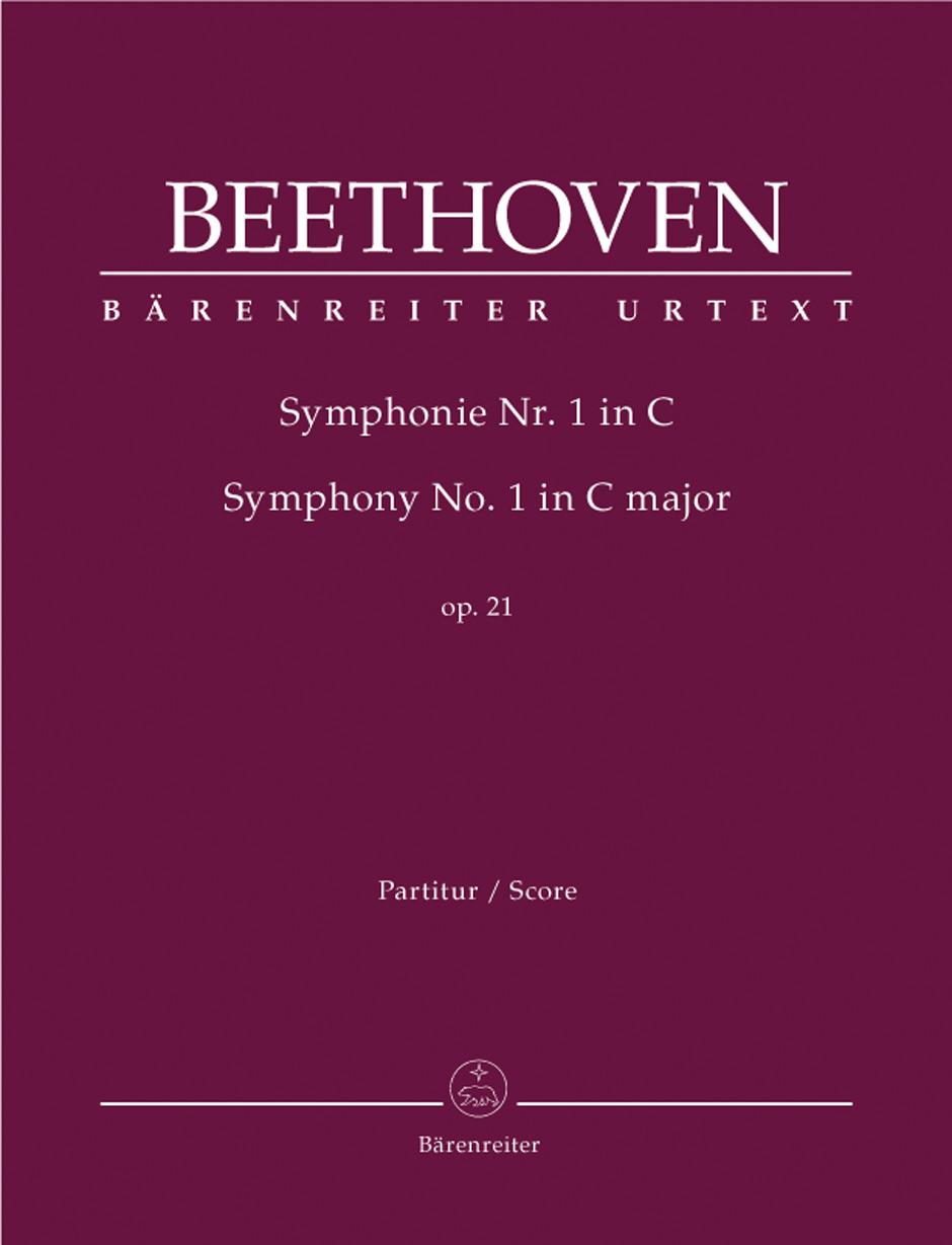 Beethoven, Ludwig van / Symphony no  1 in C major op  21