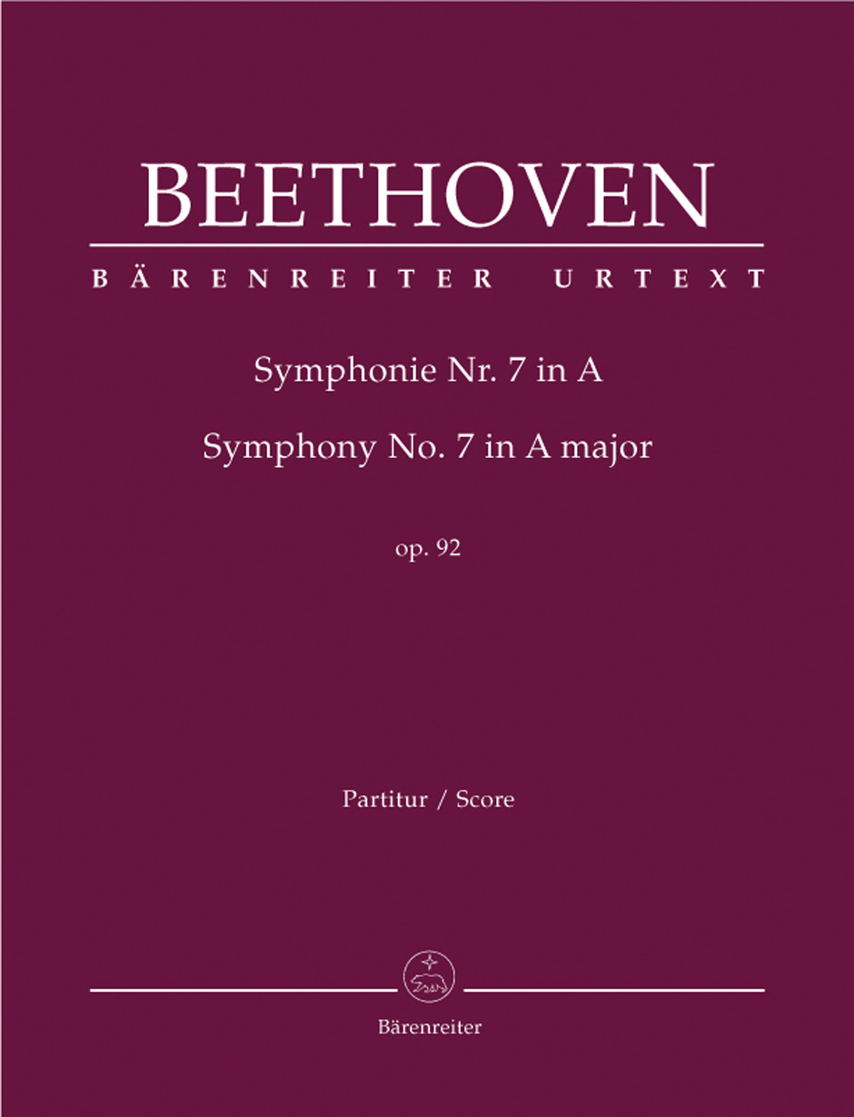 Beethoven, Ludwig van / Symphony no  7 in A major op  92