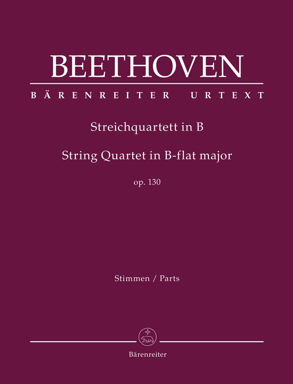 String quartet in B flat Major op.130 image