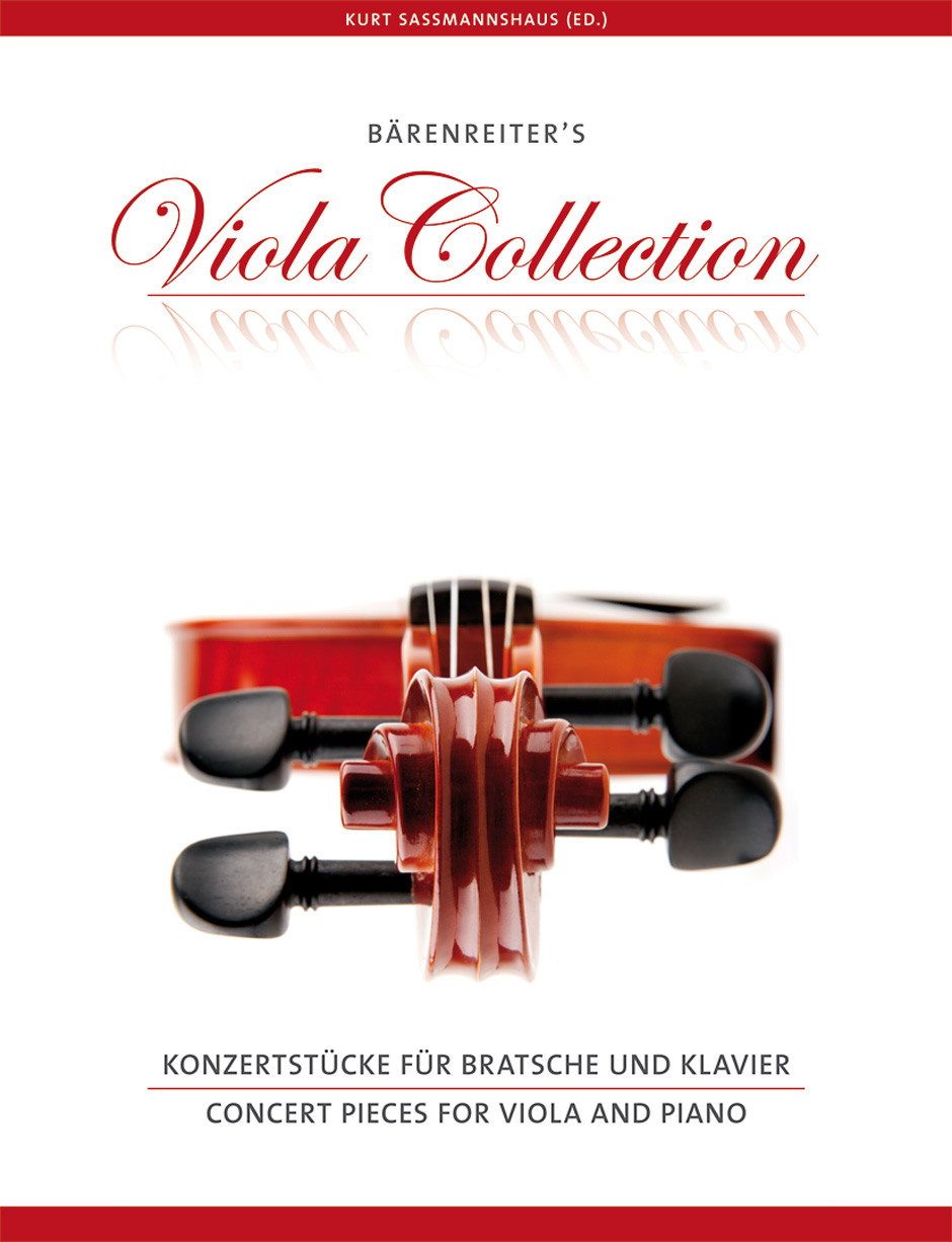 Concert Pieces for Viola and Piano / Bärenreiter Verlag