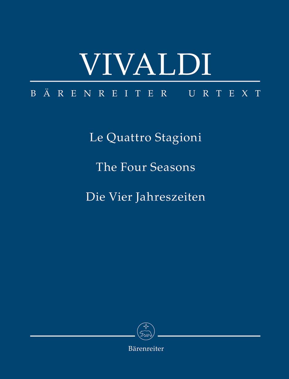 Le Quattro Staggioni (The Four Seasons) by Antonio Vivaldi, Barenreiter edition Cover Art